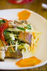 Saigon, Vietnam - Mango, seared fish salad