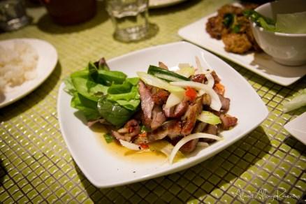 Char grilled pork neck