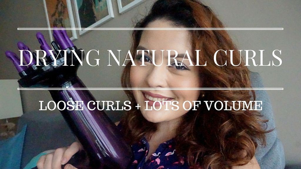 Curls, Drying Natural Curls, Hair Dryer, Philips, Thermoprotect, Ionic, Hair Styling