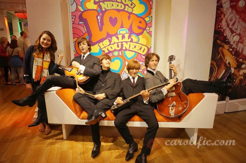 London, Travel, Europe, Britain, UK, United Kingdom, Madame Tussauds, Madame Tussauds London, The Beatles,