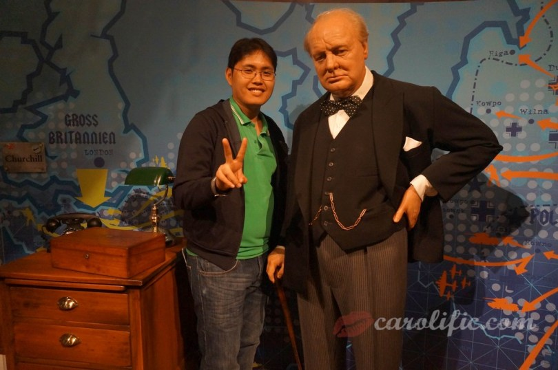 London, Travel, Europe, Britain, UK, United Kingdom, Madame Tussauds, Madame Tussauds London, Winston Churchill