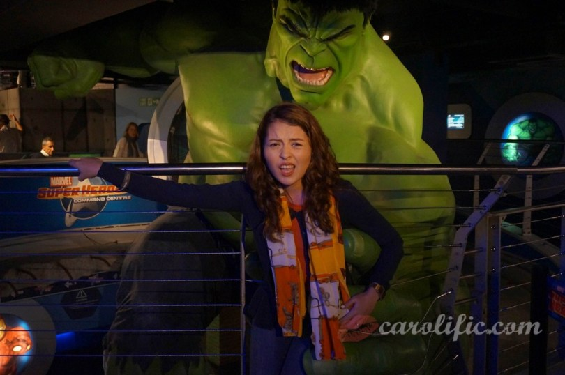 London, Travel, Europe, Britain, UK, United Kingdom, Madame Tussauds, Madame Tussauds London, The Hulk, Marvel