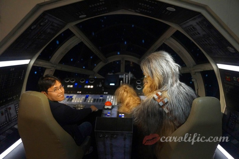 London, Travel, Europe, Britain, UK, United Kingdom, Madame Tussauds, Madame Tussauds London, Millennium Falcon, Chewbacca,