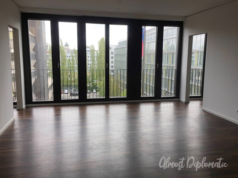 Almost Diplomatic - Diplomat's Wife - Berlin Flat - Apartment Hunting