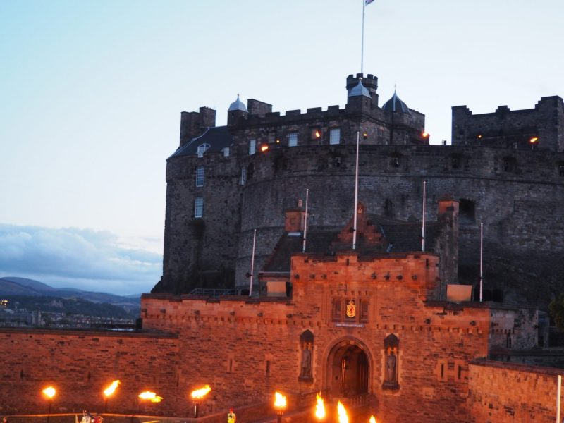 Edinburgh Castle at the Edinburgh Fringe Festival 2015 Highlights | almostginger.com
