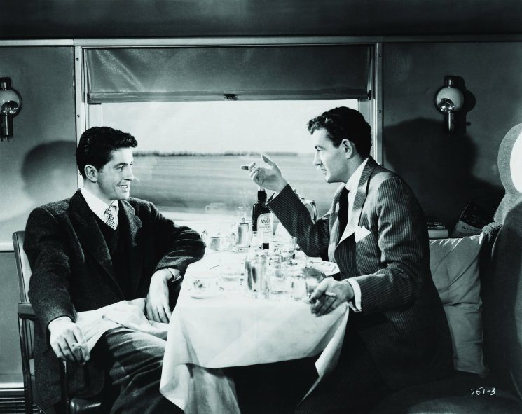 Strangers on a Train is one of the best films set on trains | almostginger.com