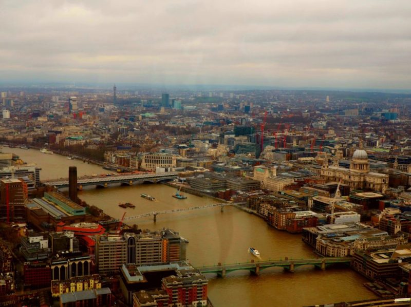My Weekend in London: The View From The Shard, The Breakfast Club & Clink78 Hostel