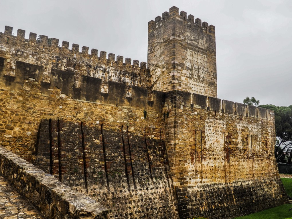 CastelodeSão Jorge in Lisbon, Porugal