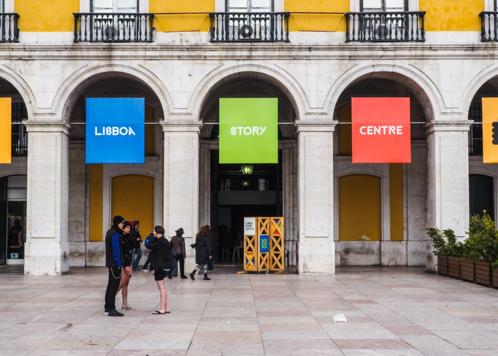 Lisboa Story Centre in Praça do Comércio inLisbon, Portugal