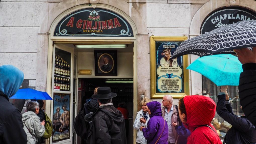 A Ginjinha Bar in Lisbon, Portugal | 3 Days in Lisbon Itinerary