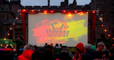 Rocky Horror Picture Show at Muncaster Castle was shockingly my first outdoor cinema experience!