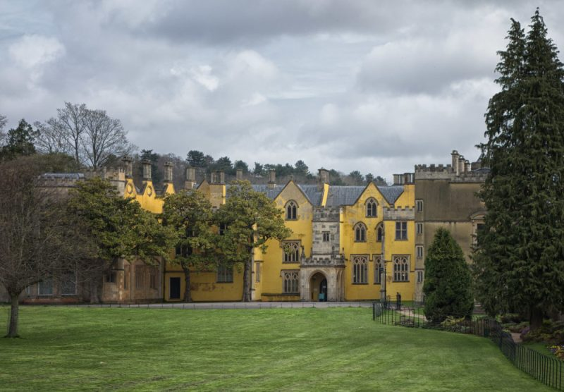 One of the main Sherlock Film Locations in Bristol is Ashton Court Manor | almostginger.com