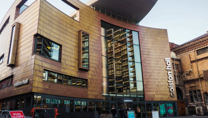 One of the main Sherlock Film Locations in Bristol is Colston Hall | almostginger.com