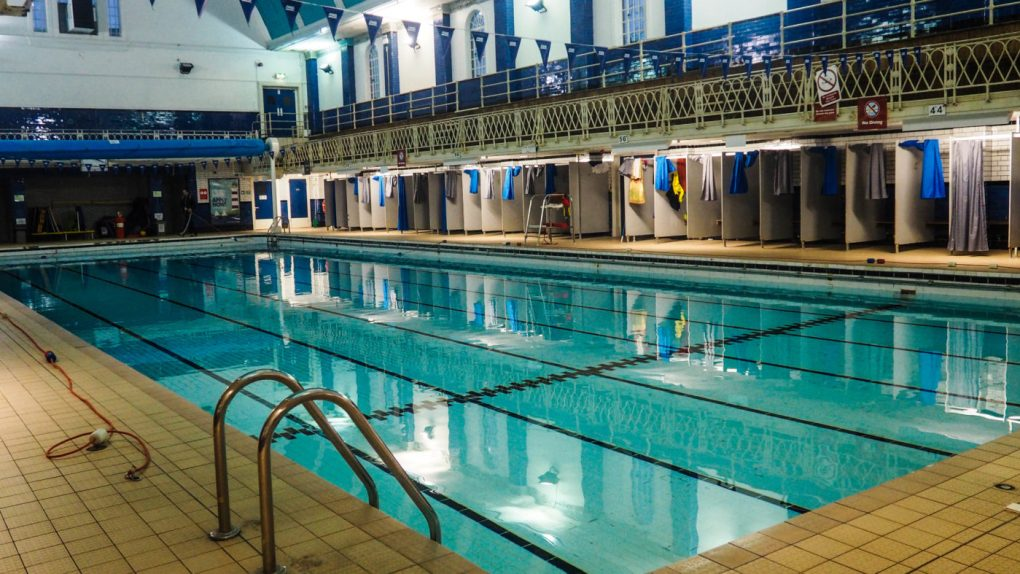 One of the main Sherlock Film Locations in Bristol is Bristol South Swimming Baths | almostginger.com