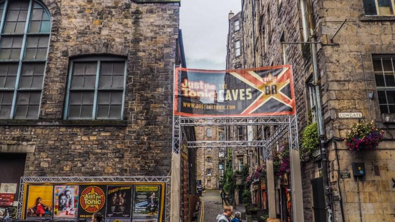 Just the Tonic venue in Edinburgh Fringe Festival in Scotland, UK