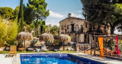 My Workaway Experience in Paradise at a Yoga Retreat in Granada, Spain | almostginger.com