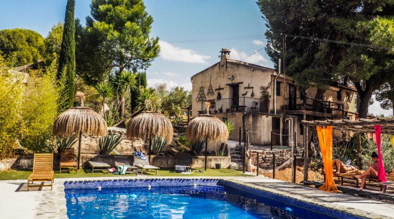 My Workaway Experience in Paradise at a Yoga Retreat in Granada, Spain