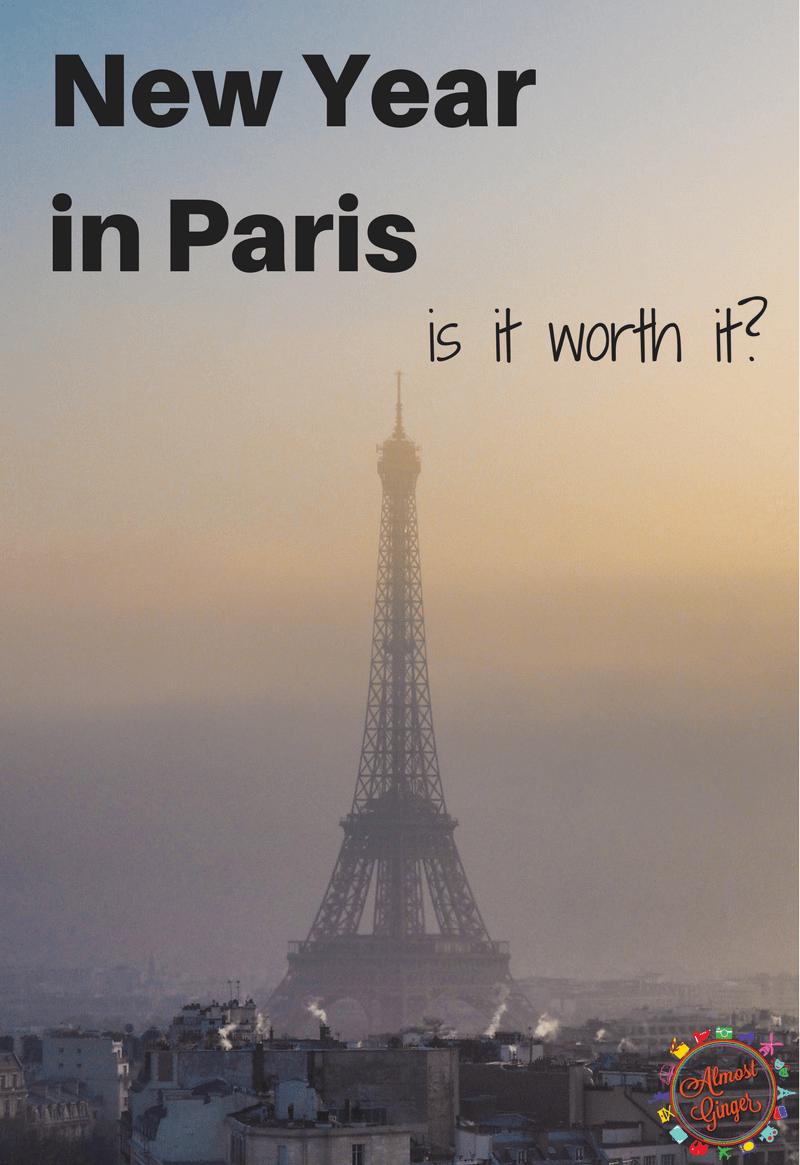 New Year in Paris sounds like a fantastic idea: a winter wonderland, fireworks in one of the most famous and beautiful cities in the world but with the cold weather, huge crowds, pickpockets and potential expense... is it worth it? | almostginger.com