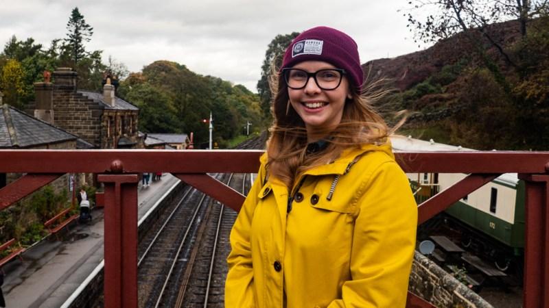Harry Potter Filming Locations at Goathland Station, Yorkshire   almostginger.com