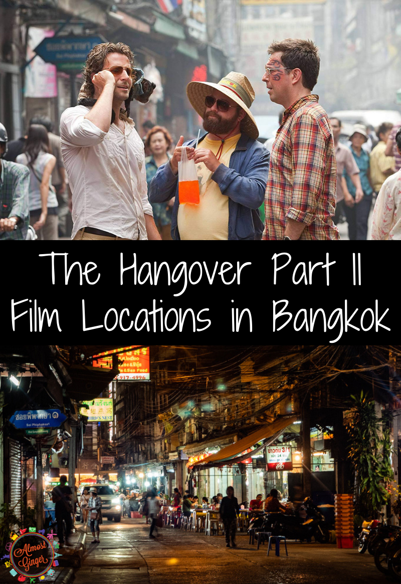 The Hangover Part II Filming Locations in Bangkok, Thailand including everywhere in Chinatown and the infamous Sky Bar!| almostginger.com