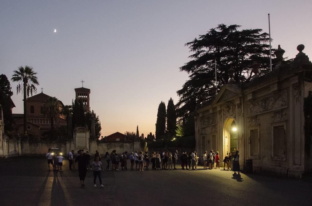 Aventine Hill in Rome, Italt