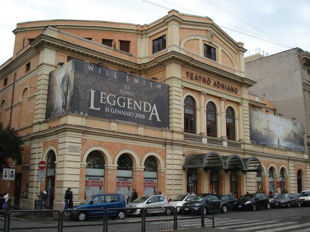 Cinema Teatro Adriano, one of the Best Arthouse/Independent Cinemas in Rome, Italy