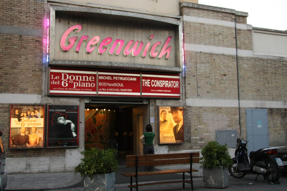 Greenwich Cinema, one of the Best Arthouse/Independent Cinemas in Rome, Italy