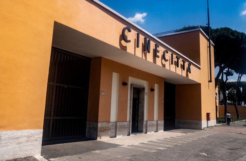 Cinecitta Film Studios in Rome, Italy