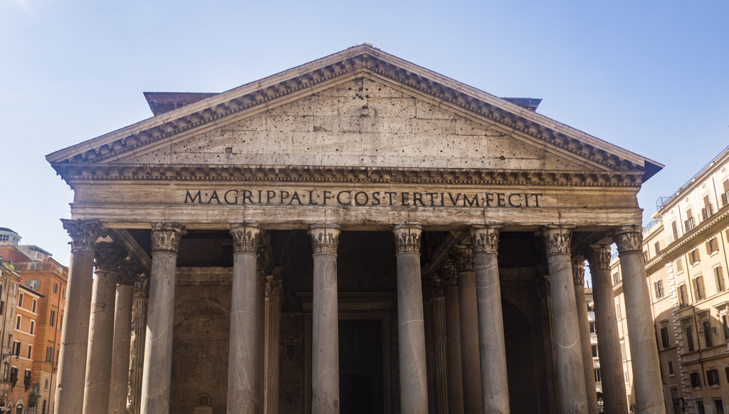 The Pantheon, an Angels and Demons filming location in Rome and Vatican City