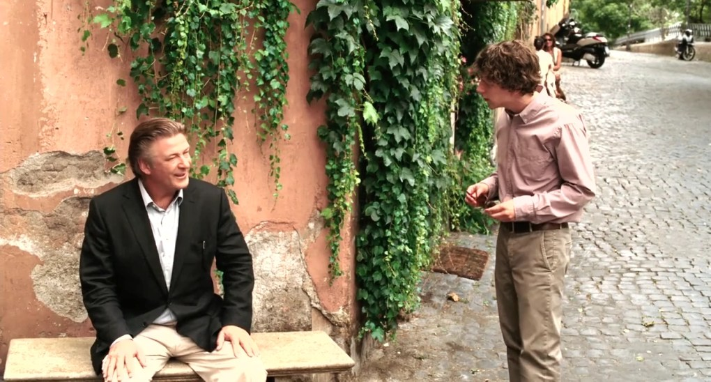 John meets Jack on a corner in To Rome with Love (2012)