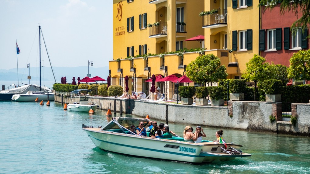 Book a boat tour on a Sirmione day trip on Lake Garda, Italy