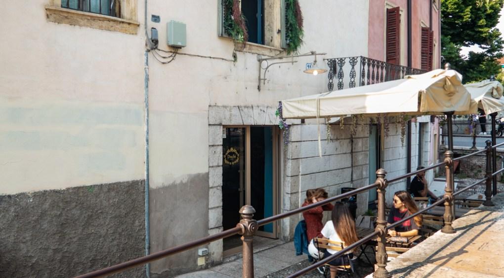 Duchi Café in Verona, Italy