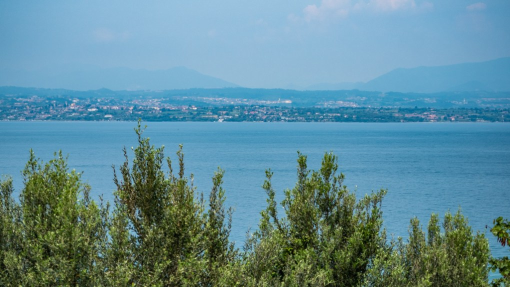 View of Lake Garda from Sirmione, Italy