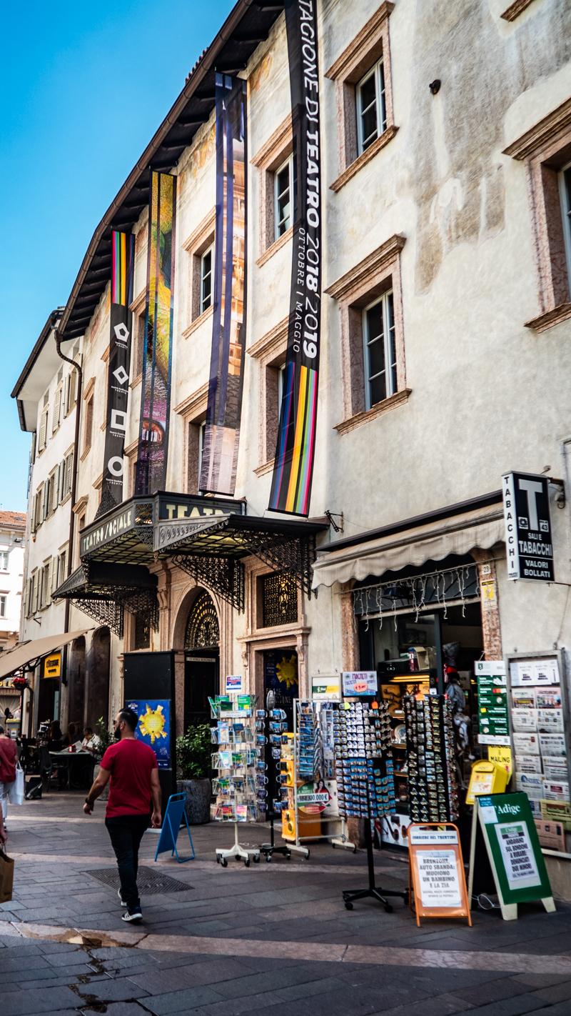 Teatro Sociale in Trento, Italy