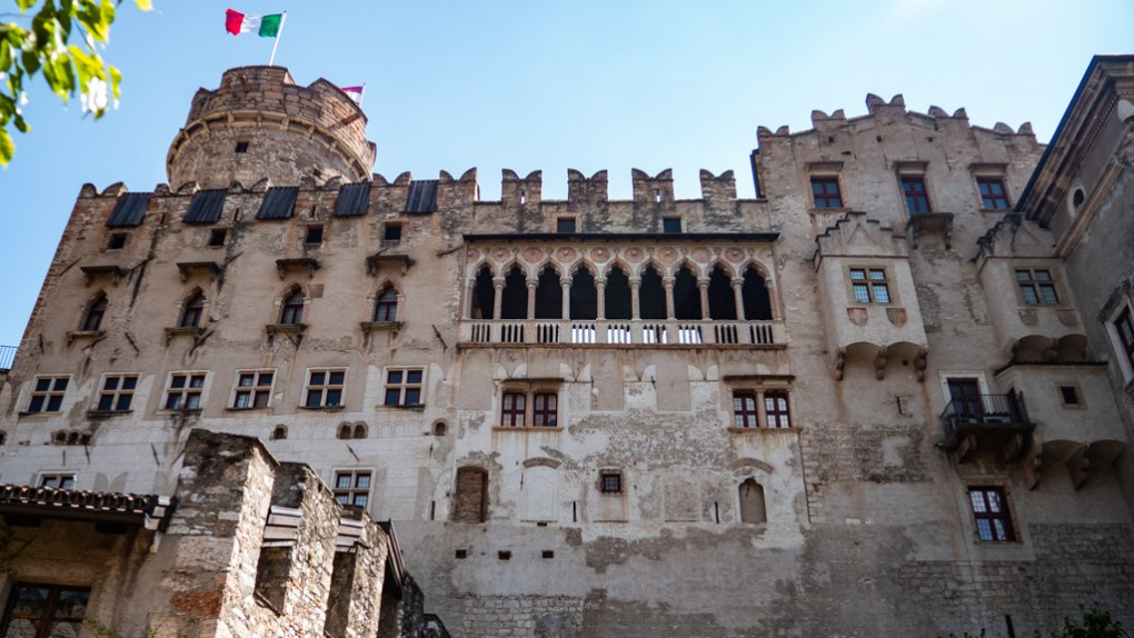 Castello del Buonconsiglio in Trento, Italy, one of the top things to do in Trento