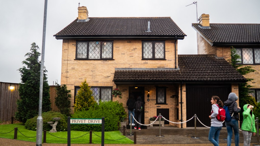 4 Privet Drive in the backlot of the Harry Potter Studios in London
