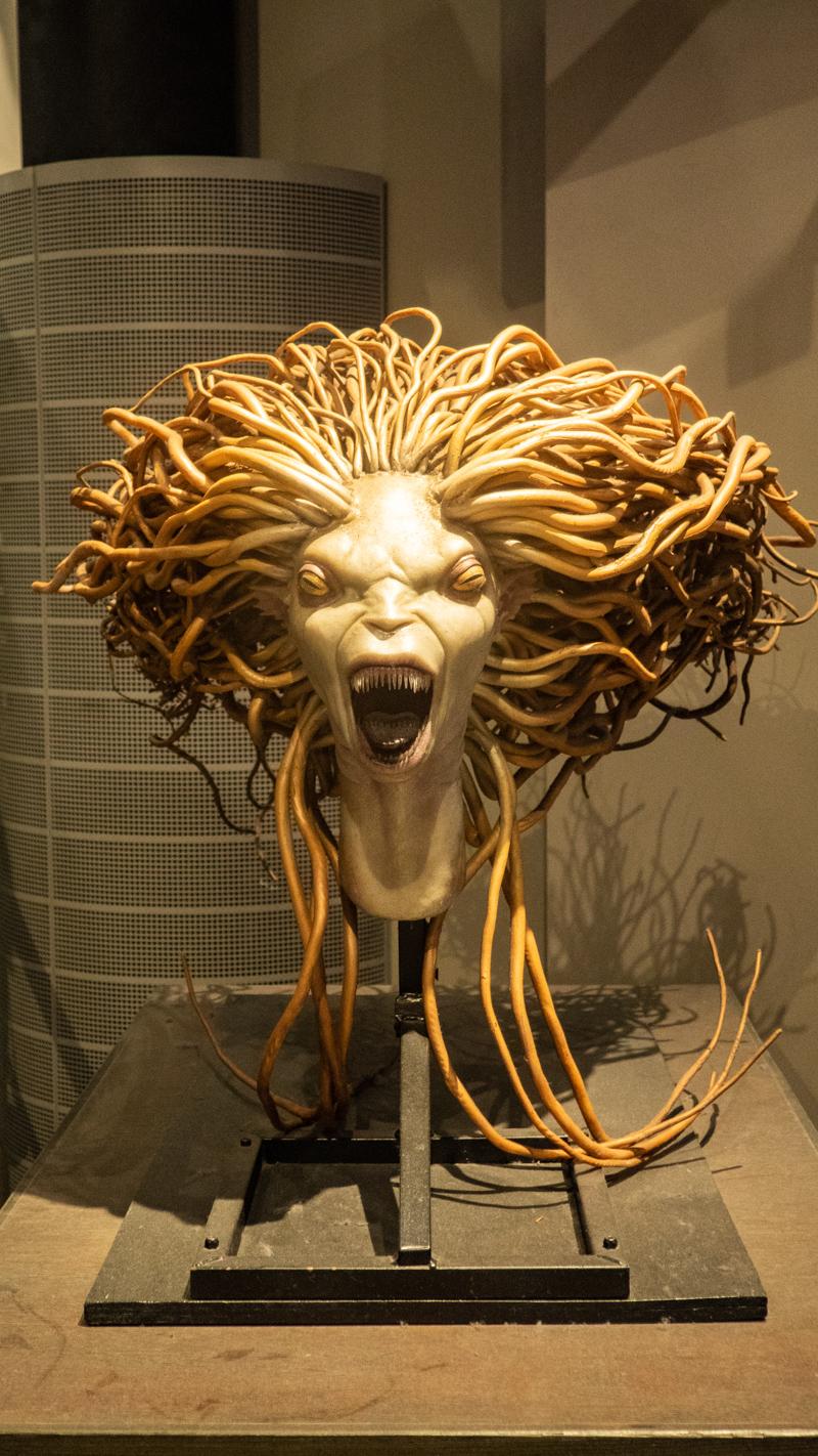 Mermaid model at the Harry Potter Studios in London