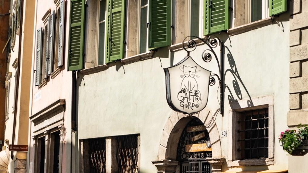 Il Gatto Gordo Bar in Trento, Italy