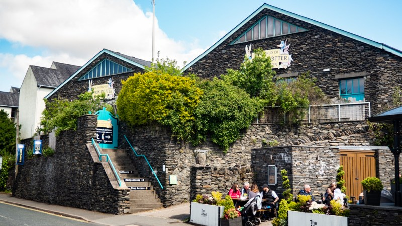 The World of Beatrix Potter Attraction in Bowness-On-Windermere in the Lake District, UK