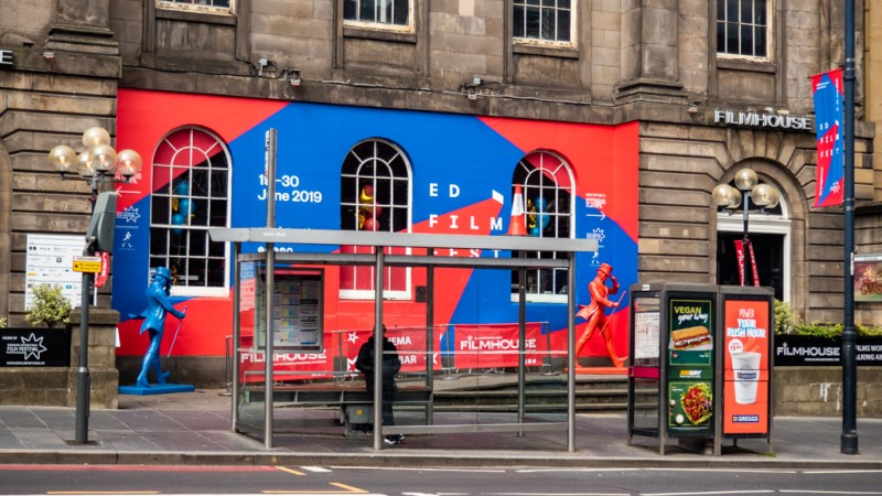Edinburgh International Film Festival 2019 at the Filmhouse cinema in Edinburgh, UK