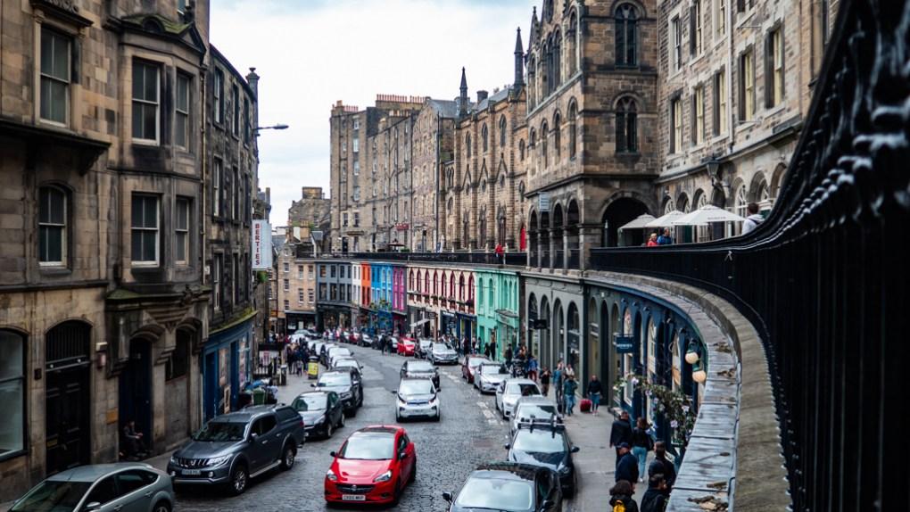 Victoria Street in Edinburgh   3 Days in Edinburgh