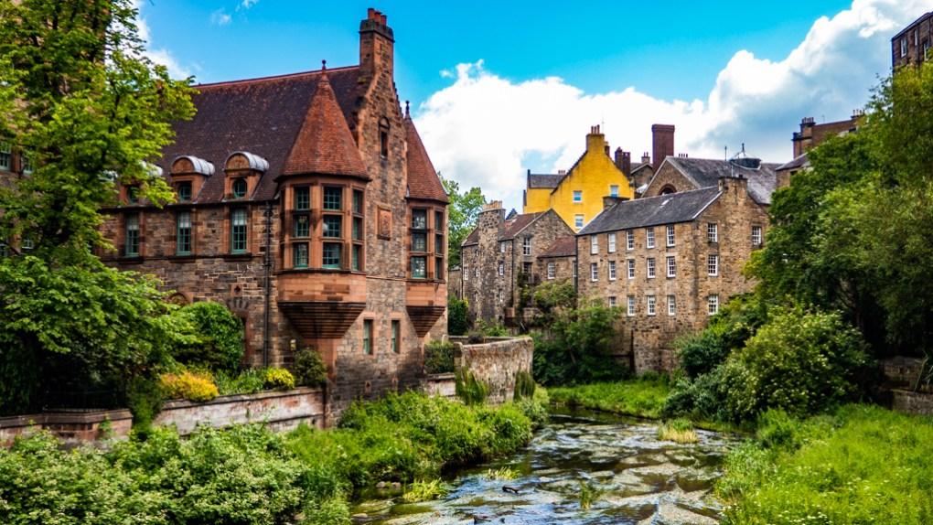 Dean Village in Edinburgh   3 Days in Edinburgh