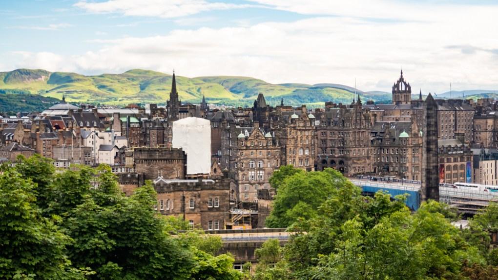 View from Calton Hill in Edinburgh   3 Days in Edinburgh