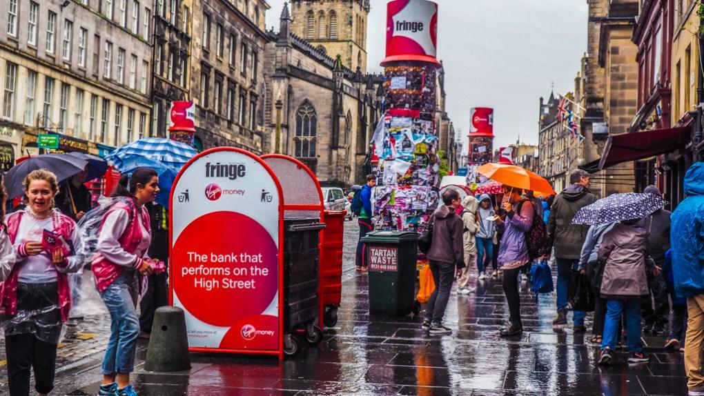 Festival, one of the top films set in Edinburgh