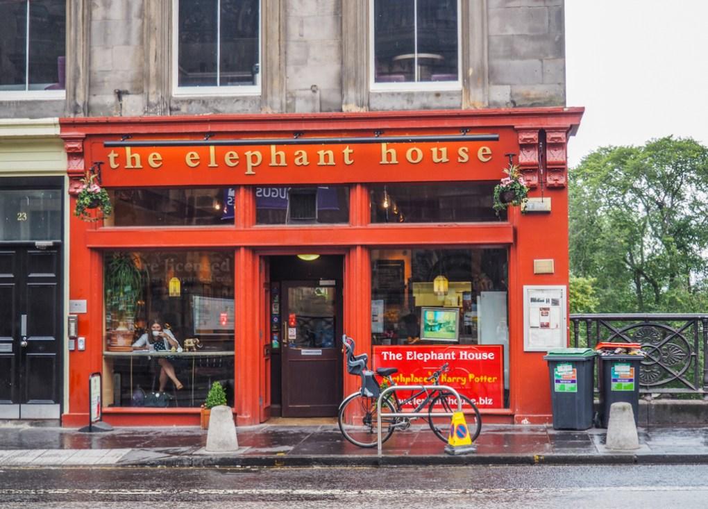 The Elephant House in Edinburgh