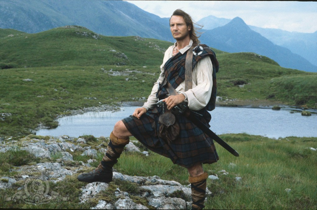 Rob Roy, one of the best films set in Scotland