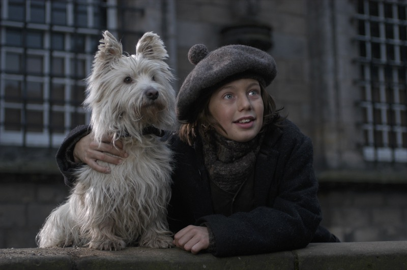 The Adventures of Greyfriar's Bobby, one of the top films set in Edinburgh