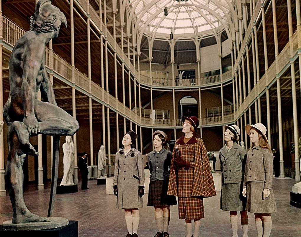 The Prime of Miss Jean Brodie, one of the top films set in Edinburgh