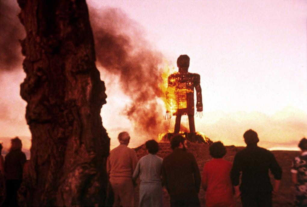 The Wicker Man, one of the best films set in Scotland