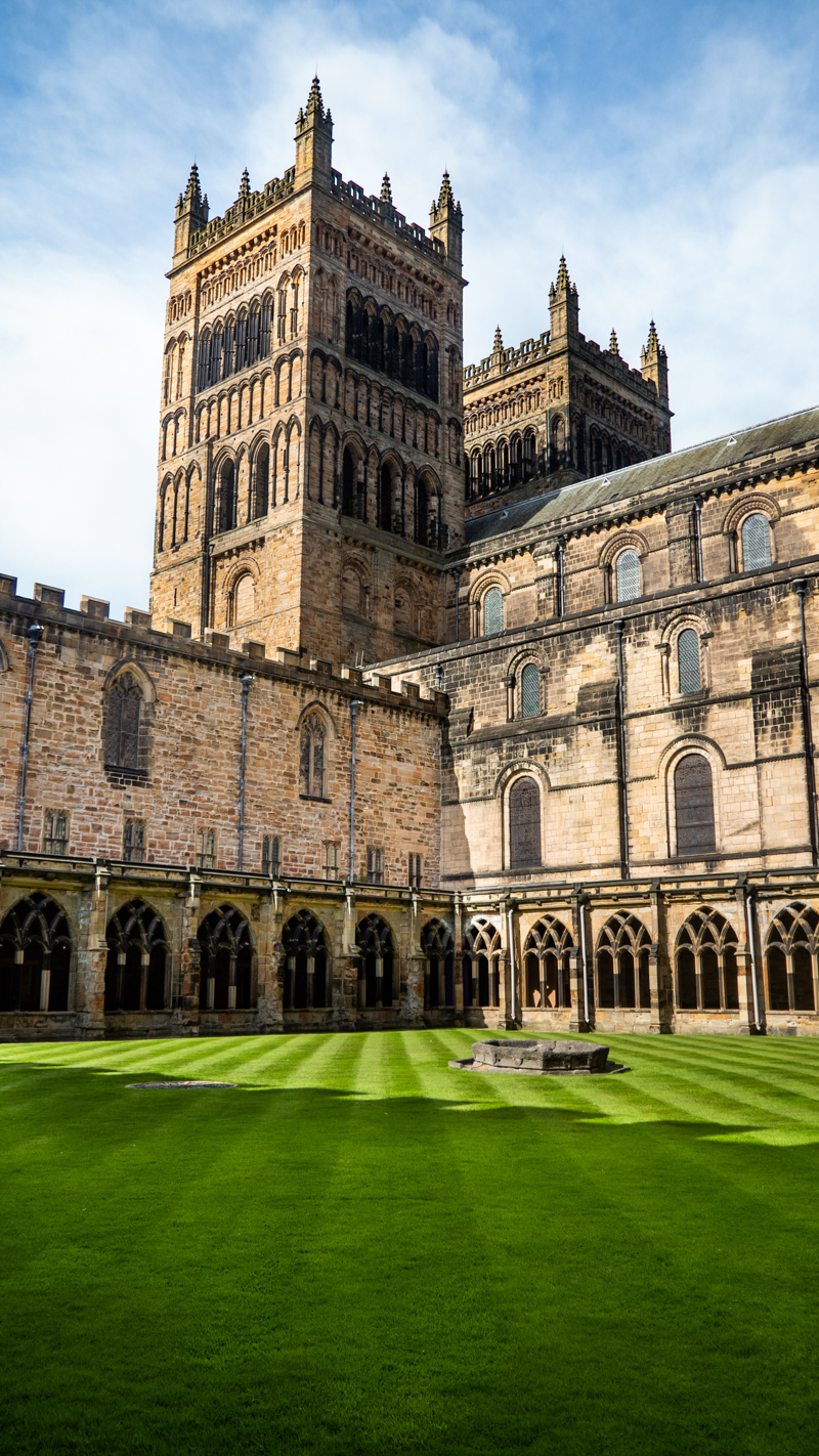 The Cloister at Durham Cathedral, a Harry Potter Filming Location